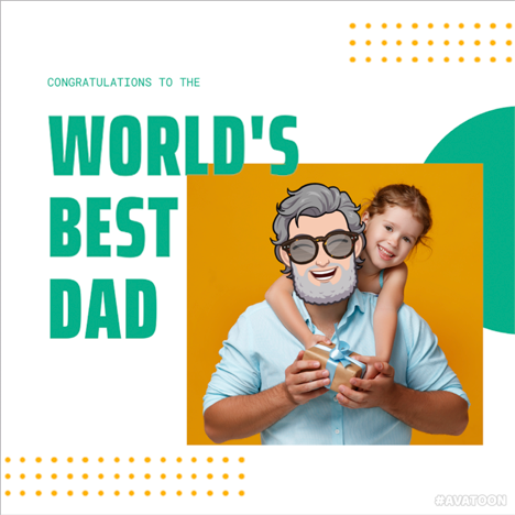 father's day greeting card 1