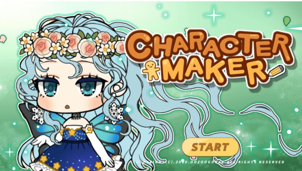 Japanese cartoon character maker Character maker screenshot
