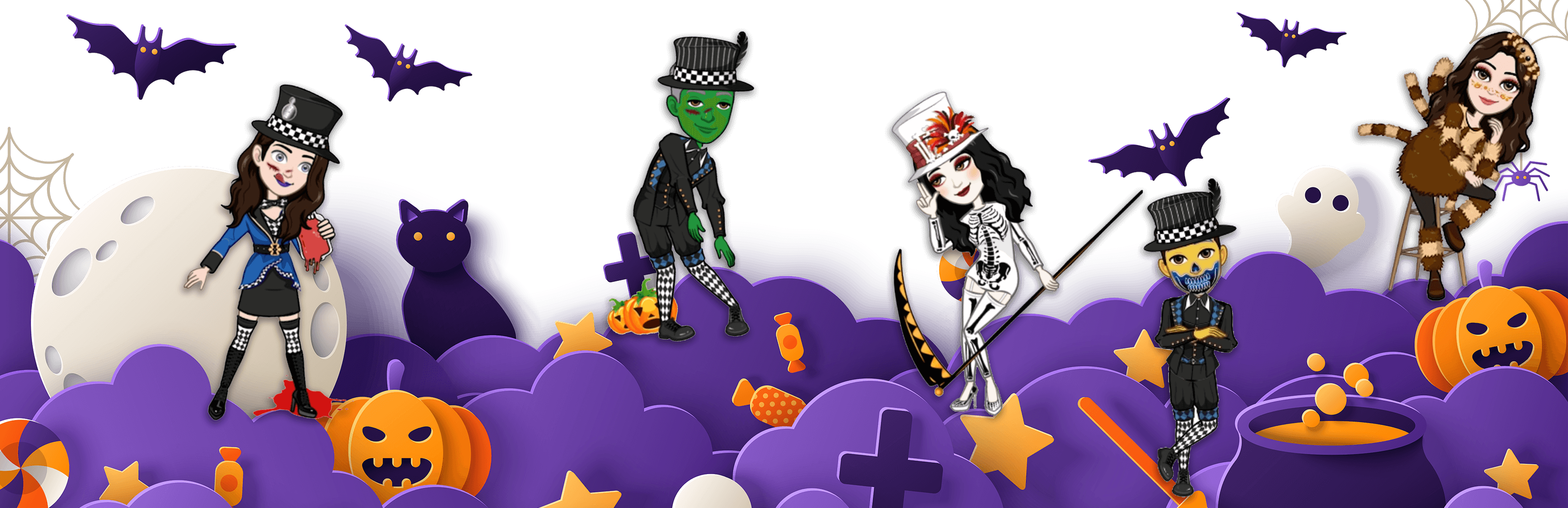 Avatoon Home Page Halloween PC cover
